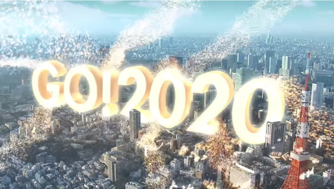 NTT 企業広告「GO!2020」篇