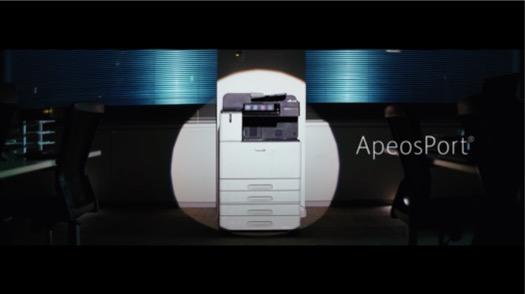 富士ゼロックス「ApeosPort セキュリティに真の強さを」