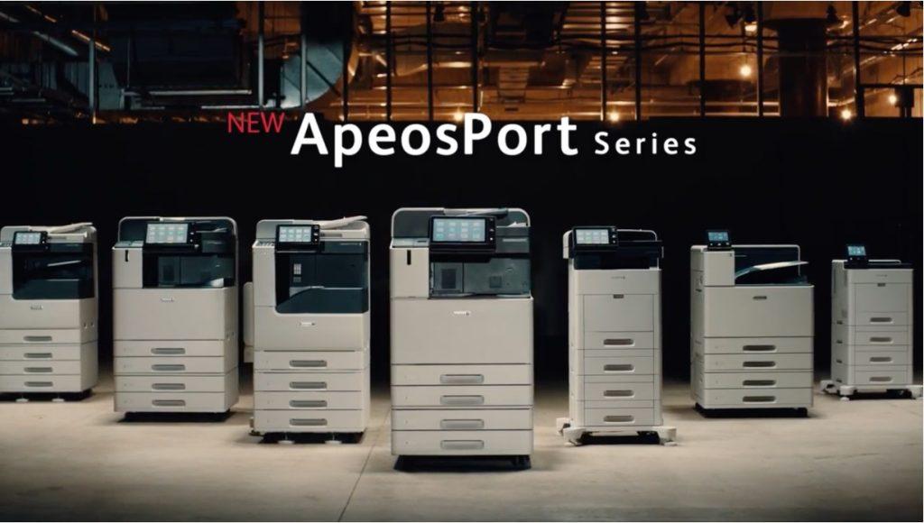 富士ゼロックス「NEW ApeosPort Series 」
